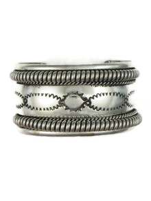 Silver Cuff Bracelet by the Tahe Family (BR6103)