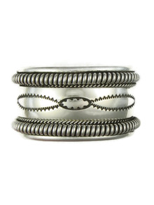 Silver Cuff Bracelet by the Tahe Family (BR6130)