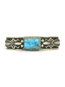 Kingman Turquoise Bracelet -Large- by Albert Jake (BR6134)