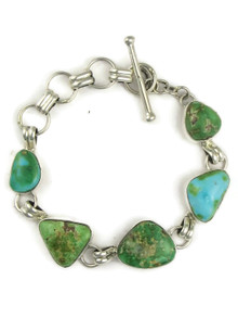 Sonoran Turquoise Link Bracelet by Lyle Piaso (BR6144)