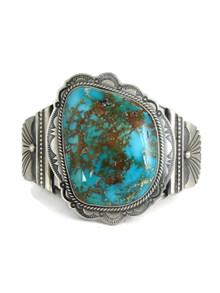 Large Turquoise Mountain Gem Bracelet by Joe Piaso Jr. (BR6146)