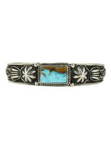 Pilot Mountain Turquoise Bracelet by Tsosie White (BR6151)