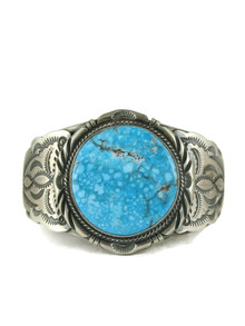 Kingman Turquoise Bracelet by John Nelson (BR6160)