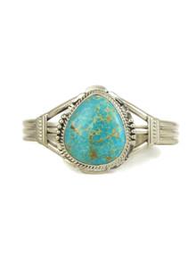 Kingman Turquoise Bracelet by John Nelson (BR6180)