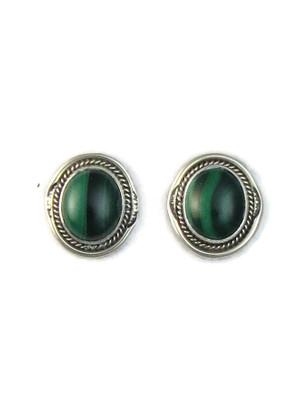 Malachite Post Earrings by Lucy Jake (ER5165)
