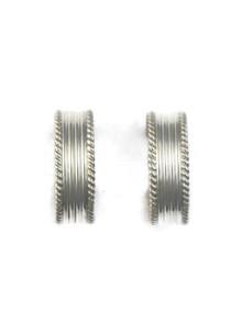 Silver Hoop Earrings (ER5219)