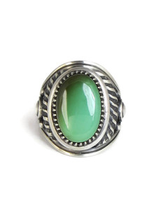 Royston Turquoise Ring Size 10 by Derrick Gordon (RG4305)