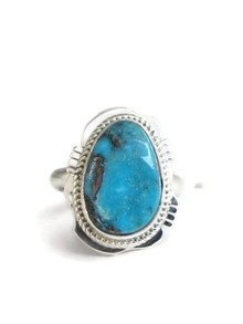 Royston Turquoise Ring Size 8 by Jake Sampson (RG4385)