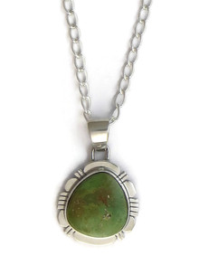 Emerald Valley Turquoise Pendant by Phillip Sanchez (PD4183)
