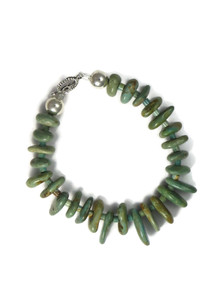 Emerald Valley Turquoise Bead Bracelet by Julian Coriz (BR6228)