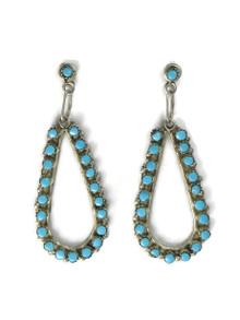 Turquoise Dangle Earrings by Jane Quam (ER5248)