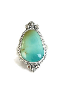 Manassa Turquoise Ring Size 7 by Lucy Jake (RG4392)