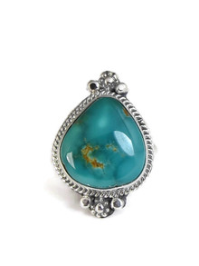 Manassa Turquoise Ring Size 9 by Lucy Jake (RG4393)