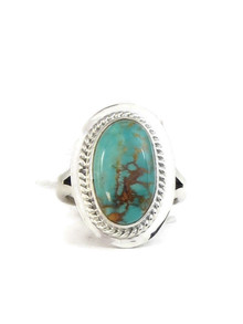 Manassa Turquoise Ring Size 5 by Lyle Piaso (RG4395)