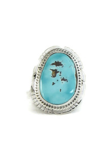Royston Turquoise Ring Size 7 by Lucy Jake (RG4407)