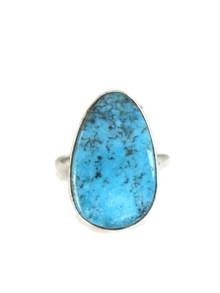 Kingman Turquoise Ring Size 9 by Lyle Piaso (RG4412)