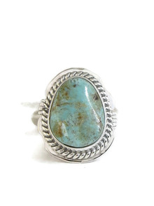 Dry Creek Turquoise Ring Size 7 by Jake Sampson (RG4420)