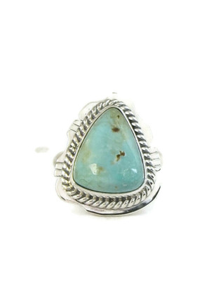 Dry Creek Turquoise Ring Size 7 by Jake Sampson (RG4421)