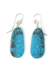 Turquoise Slab Earrings by Ronald Chavez (ER5300)