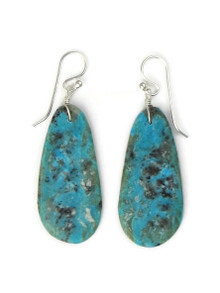 Turquoise Slab Earrings by Ronald Chavez (ER5301)