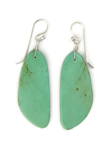 Turquoise Slab Earrings by Ronald Chavez (ER5304)