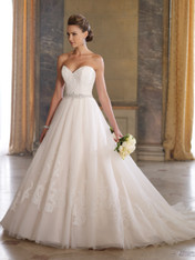 David Tutera for Mon Cheri 213257 – Gala