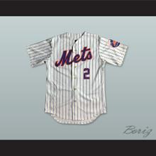 Marv Throneberry 2 New York White Pinstriped Baseball Jersey