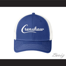 Crenshaw Blue with White Mesh Baseball Hat