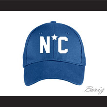 Michael Jordan North Carolina Little League Blue Baseball Hat