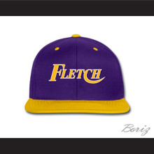 Fletch Purple and Yellow Baseball Hat