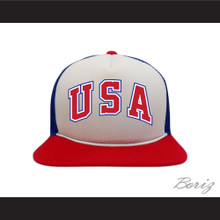 1984 USA Team Red White and Blue Baseball Hat