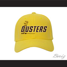 Binghamton Broome Dusters Yellow Baseball Hat