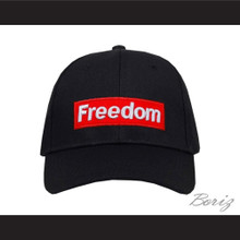 Freedom Black Baseball Hat