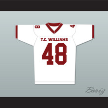 T. C. Williams High School Titans Football Jersey White Ryan Gosling Alan Bosley