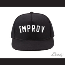 Improv Black Baseball Hat