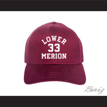 Kobe Bryant 33 Lower Merion High School Aces Maroon Baseball Hat