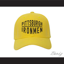 Pittsburgh Ironmen Yellow Baseball Hat