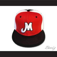 Portland Mavericks Red White and Black Baseball Hat