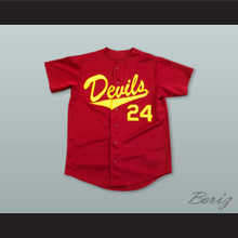 Barry Bonds 24 ASU Sun Devils Red Baseball Jersey
