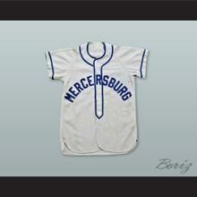 Mercersburg Academy Light Gray Baseball Jersey