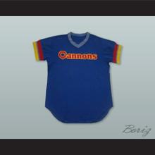Calgary Cannons 50 Blue Baseball Jersey