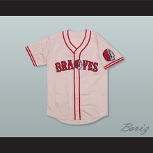Babe Ruth 3 Boston Braves White Baseball Jersey