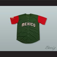 Mexico Green Baseball Jersey