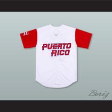 Roberto Clemente 21 Puerto Rico White Baseball Jersey