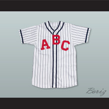Atlanta Black Crackers 2 Negro League White Pinstriped Baseball Jersey