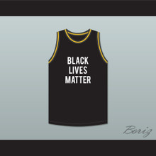 George Floyd 46 Black Lives Matter Basketball Jersey