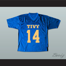 Johnny Manziel 14 TIVY High School Football Jersey Blue