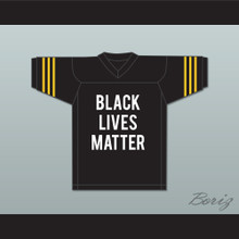Michael Brown Jr 18 Black Lives Matter Football Jersey