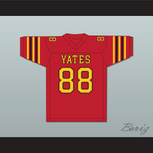 George Floyd 88 Yates High School Lions Red Football Jersey
