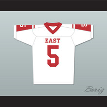 Vince Howard 5 East Dillon Lions Football Jersey Friday Night Lights White